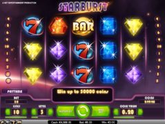 SpeelGerust Online Casino Slot Starburst